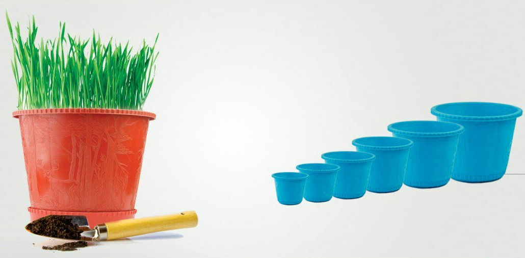 قیمت روز گلدان پلاستیکی
