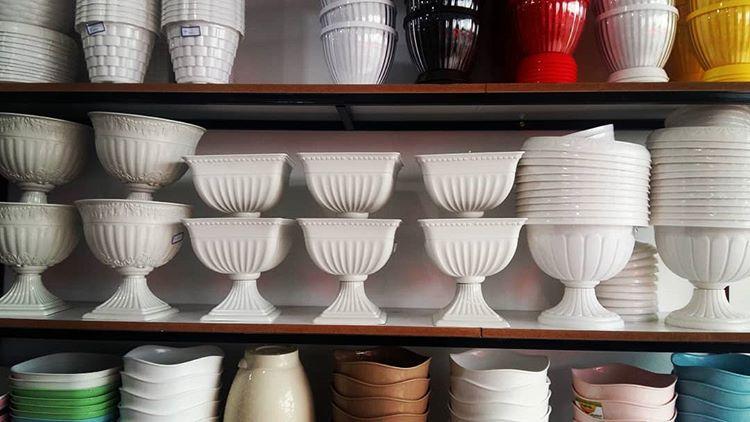 عمده فروشی گلدان پلاستیکی