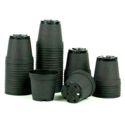 تامین کننده انواع گلدان پلاستیکی مشکی